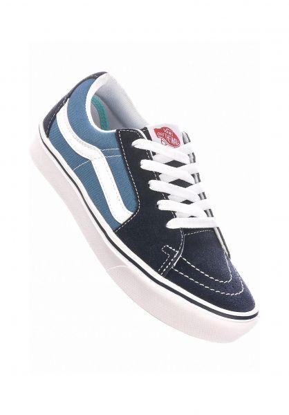 Vans Alle Schuhe Comfy Cush Sk8-Low navy vorderansicht 0612569