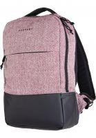 forvert-rucksaecke-new-lance-flannel-burgundy-vorderansicht-0880820