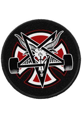 Independent Thrasher Pentagram Cross Patch