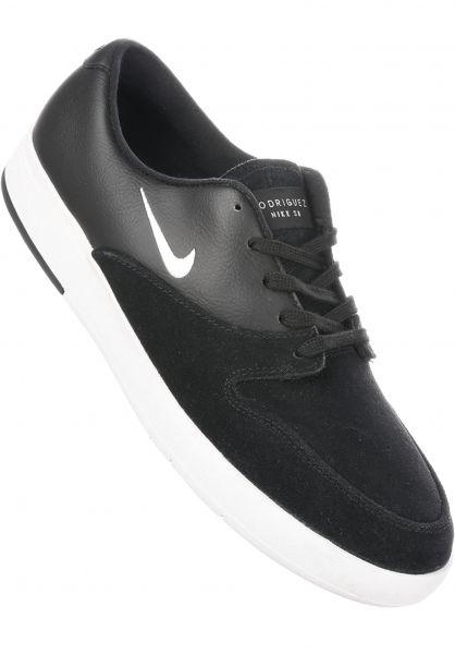 Nike SB Alle Schuhe Zoom P-Rod X black-white Vorderansicht