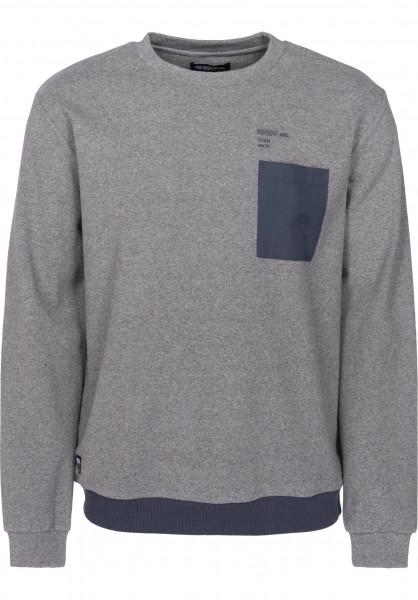Mahagony Sweatshirts und Pullover Army charcoal-blue Vorderansicht