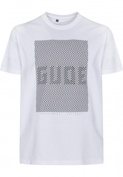 GUDE T-Shirts Optik white Vorderansicht