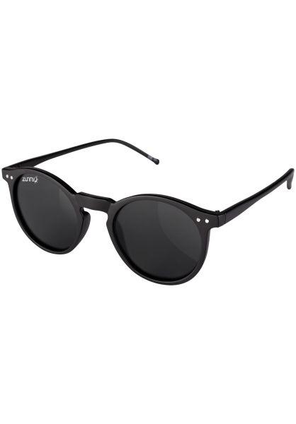 Zunny Sonnenbrillen Drew black-black-smoke Vorderansicht 0590563