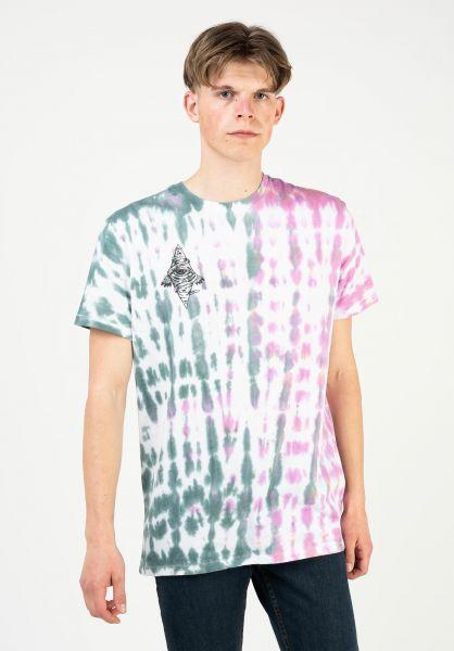 Brixton T-Shirts Bohemian green-red vorderansicht 0323180