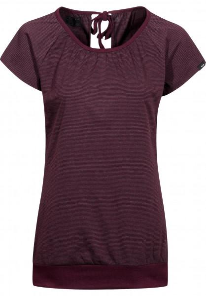 Forvert T-Shirts Easy-Girls red-grey Vorderansicht