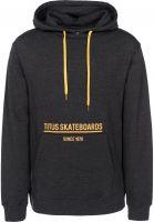 titus-hoodies-helge-darkgreymottled-vorderansicht-0444660