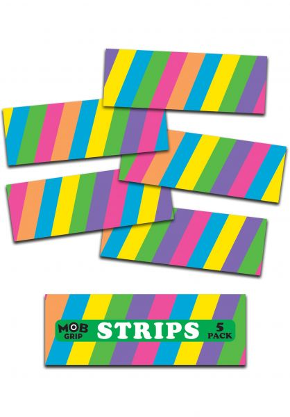 MOB-Griptape Griptape Stripe O Rama Grip Strips multicolored vorderansicht 0142404
