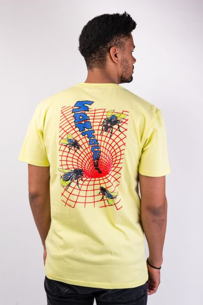 Santa-Cruz T-Shirts Fly Mensional limelight vorderansicht 0399802