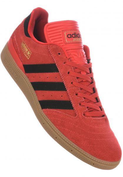 adidas-skateboarding Alle Schuhe Busenitz Pro scarlet-black-gum Vorderansicht