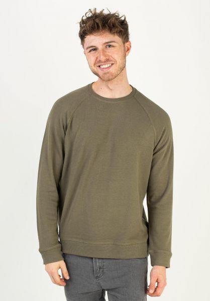 Quiksilver Sweatshirts und Pullover Toolangi Slate kalamata vorderansicht 0423020