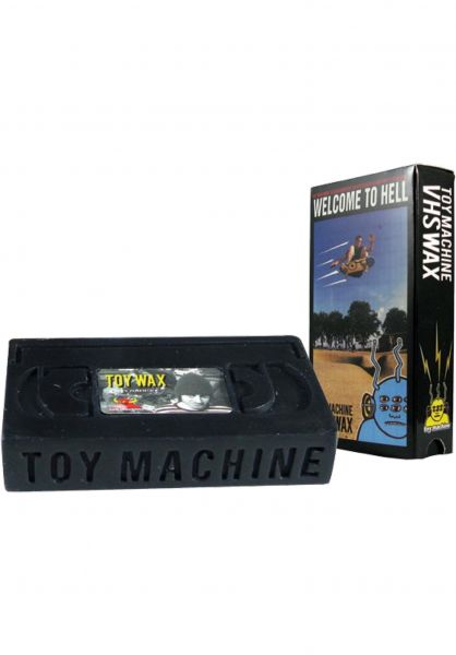 Toy-Machine Skate-Wachs Wax V.H.S black vorderansicht 0200043