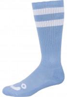 Polar Skate Co Socken Happy Sad Classic powderblue-white Vorderansicht