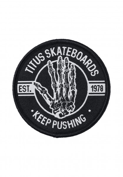 TITUS Verschiedenes KEEP PUSHING HAND black-bone Vorderansicht