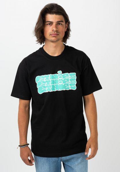 etnies T-Shirts Slop black vorderansicht 0321412