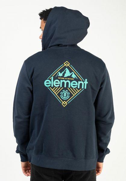 Element Zip-Hoodies Duggar eclipsenavy vorderansicht 0454872