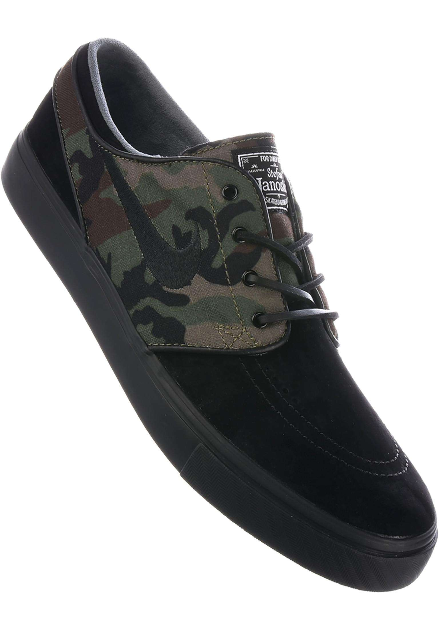 best sneakers d2e7b 194ae Zoom Stefan Janoski OG Nike SB All Shoes in black-black-mediumolive for Men    Titus