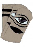 Toy-Machine Socken Sect-Eye-III camel vorderansicht 0630253