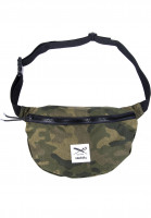 iriedaily Hip-Bags Gridstop camou-olive Vorderansicht