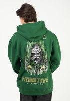 primitive-skateboards-hoodies-x-marvel-doom-darkgreen-vorderansicht-0446430