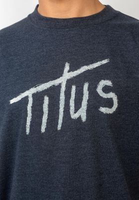 TITUS Brushed Letters