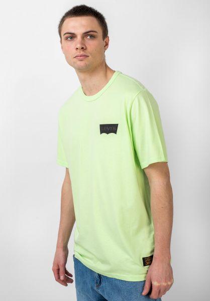 Levis Skate T-Shirts Skate Graphic paradisegreen vorderansicht 0398969