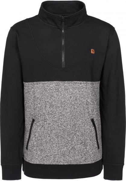 TITUS Sweatshirts und Pullover Mojo blackmottled-black Vorderansicht