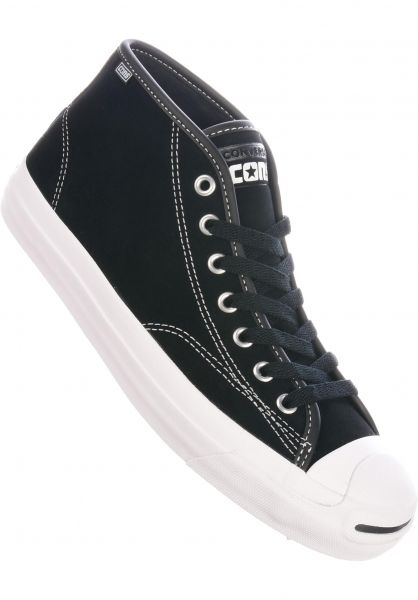 Converse CONS Jack Purcell Pro Mid Black White