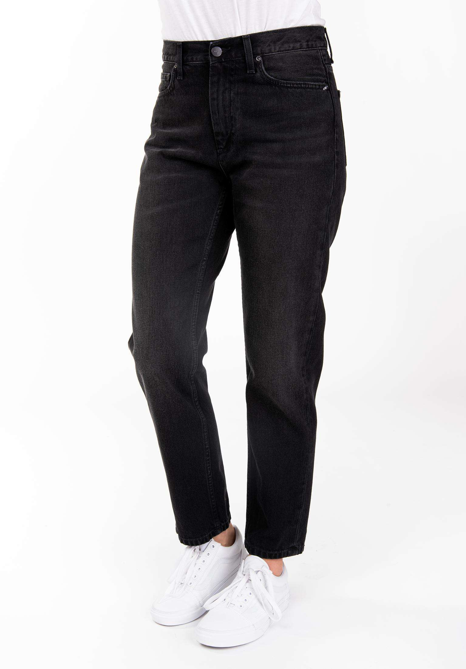 premium selection 4f95e 7a4c0 W  Page Carrot Ankle Carhartt WIP Jeans in black-90s-wash for Women   Titus