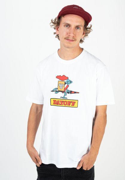 Day Off T-Shirts Collector white vorderansicht 0322955