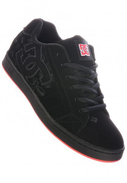 DC Shoes Alle Schuhe x Bobs Burgers Net black-black-red vorderansicht 0604936