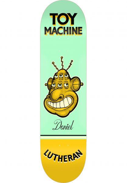 Toy-Machine Skateboard Decks Pen ´N´ Ink Series Lutheran vorderansicht 0264800