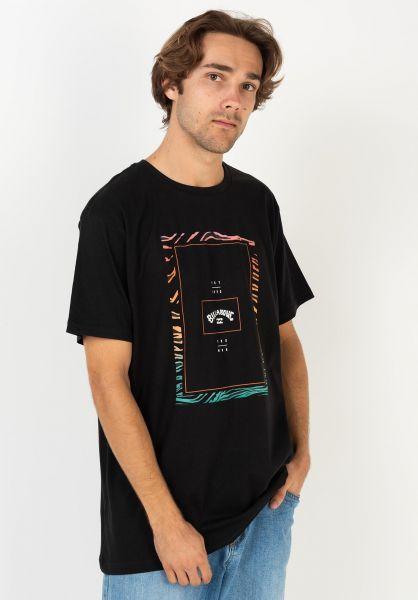 Billabong T-Shirts Tucked black 320 vorderansicht 0399905