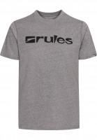 Rules T-Shirts Basic heavybrownmottled Vorderansicht