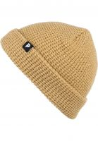 Primitive Skateboards Mützen Dirty P Waffle Two-Fer Beanie camel Vorderansicht 0572332