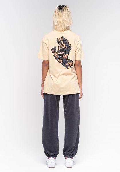 Santa-Cruz T-Shirts Poppy Hand sand vorderansicht 0322919