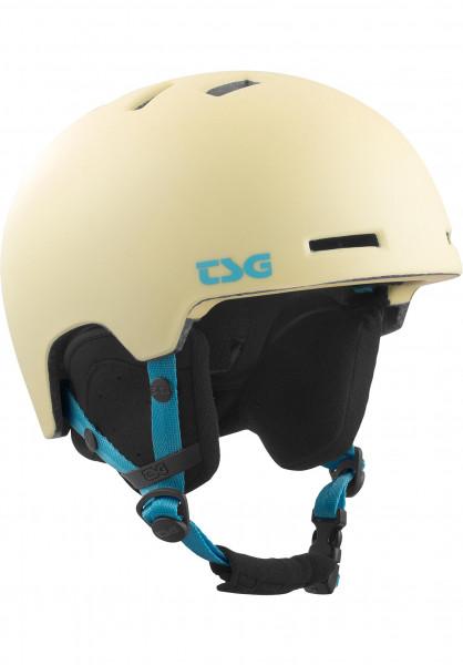 TSG Snowboardhelme Arctic Nipper Maxi Solid Color II satin sorbet Vorderansicht