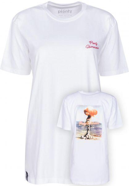 Plenty Humanwear T-Shirts Explosion white vorderansicht 0398366