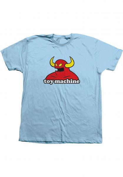 Toy-Machine T-Shirts Monster pool vorderansicht 0360310