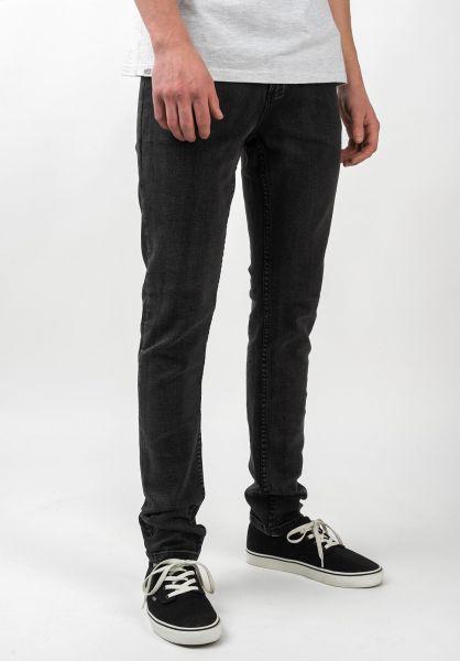 TITUS Jeans Skinny Fit black-bleached vorderansicht 0108108