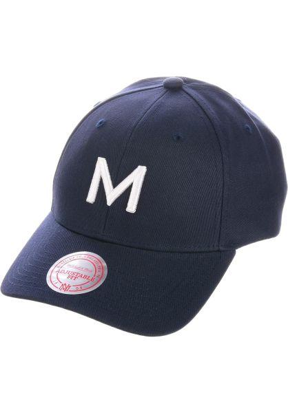 Makia Caps Mono navy vorderansicht 0566424