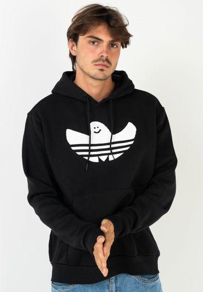 adidas-skateboarding Hoodies Shmoo black-offwhite vorderansicht 0445823