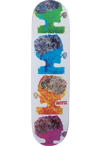 Antiz Skateboard Decks Can white vorderansicht 0262621