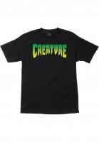 Creature-T-Shirts-Logo-black-Vorderansicht