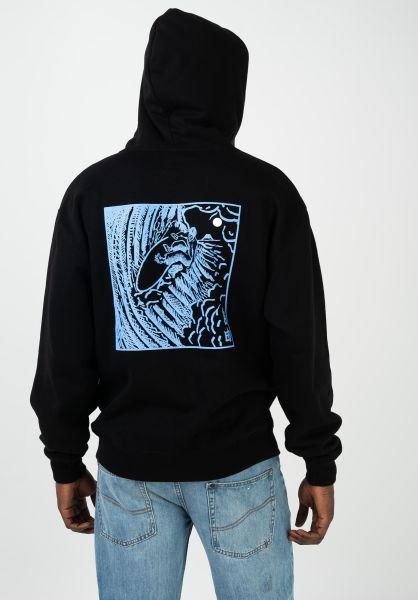 Polar Skate Co Hoodies Shin black vorderansicht 0445822