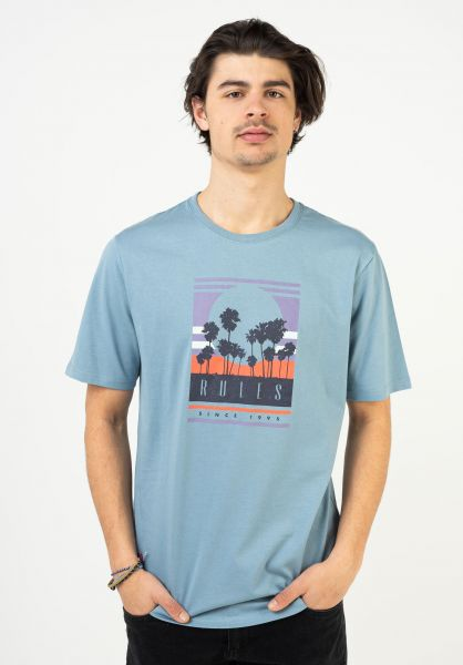 Rules T-Shirts Bela bluegrey vorderansicht 0321997