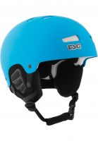 TSG-Snowboardhelme-Arctic-Kraken-Solid-Color-flat-dark-cyan-Vorderansicht