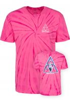 HUF T-Shirts HUF x Sorayama Wash pink Vorderansicht