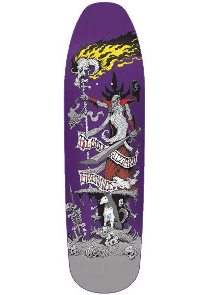Blood Wizard Skateboard Decks Battle Gregson Gauntlet purple vorderansicht 0262091