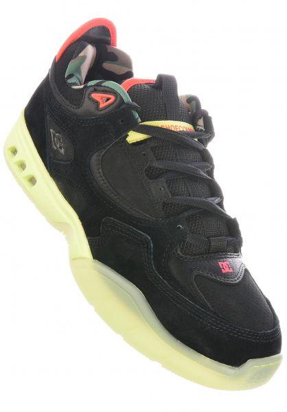 DC Shoes Alle Schuhe x Bobs Burgers Kalis OG black vorderansicht 0605021