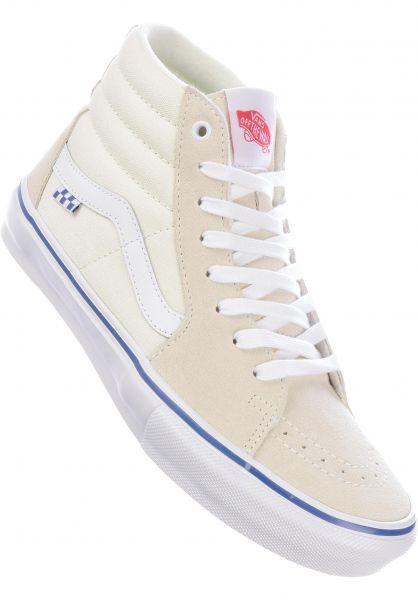 Vans Alle Schuhe Skate SK8-Hi offwhite vorderansicht 0604964